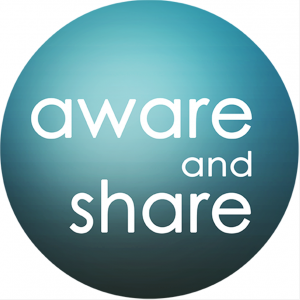 logo aware and share